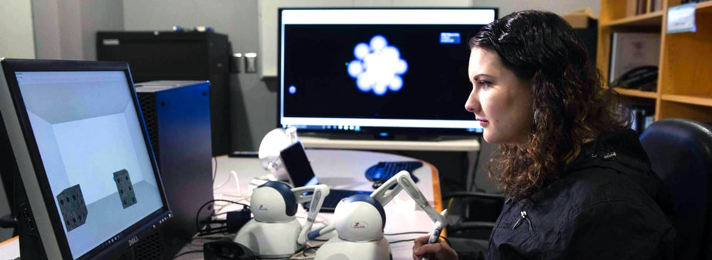 bs computer science in georgia southern university haptics