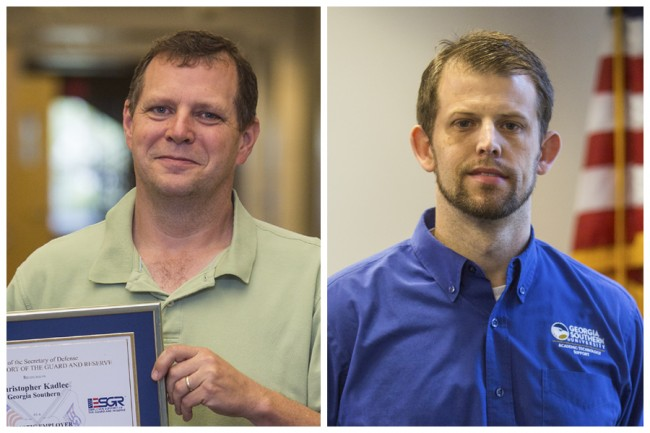 Chris Kadlec, Ph.D. (left), Todd Tinker (right)