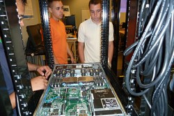 servers and students