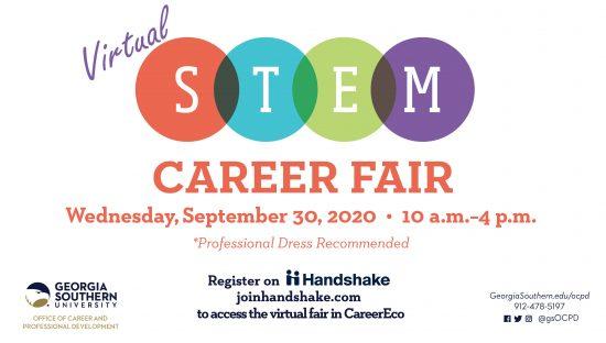 STEM Career Fair Ad
