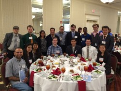 GSU Robotics Team and presenters at the 2016 IEEE SoutheastCon Award Banquet