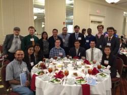 GSU Robotics Team and presenters at the 2016 IEEE SoutheastCon Award Banquet