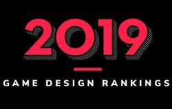 graphic design for 2019 Game Design Rankings